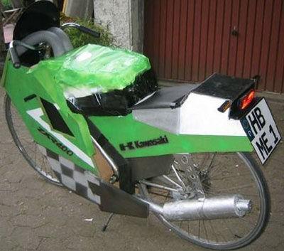 Neue Kawasaki ZXR400