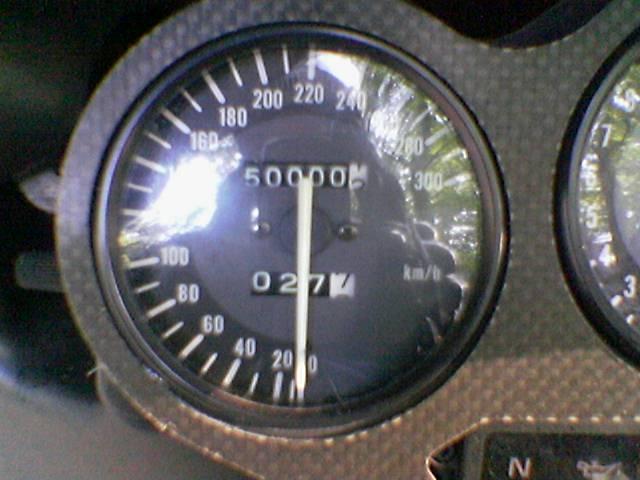 50000km - Das Beweisfoto