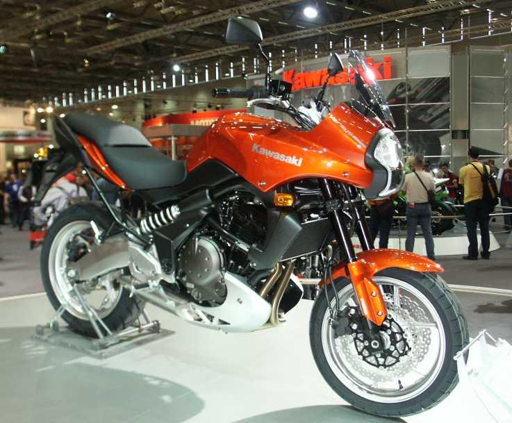 moto kawasaki adventure