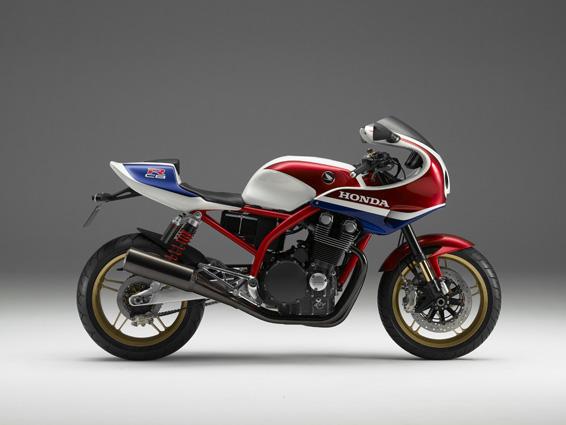 Honda CB1100R von der Seite
