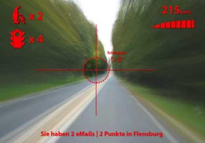 Aussicht mit dem Blindflight