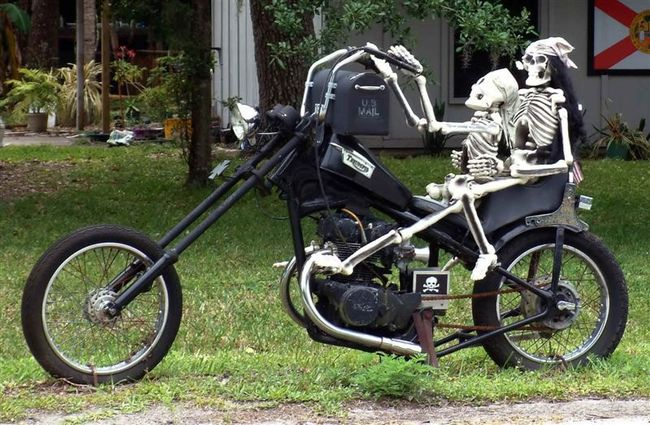 """Briefkasten Modell """"Ghostrider"""""""
