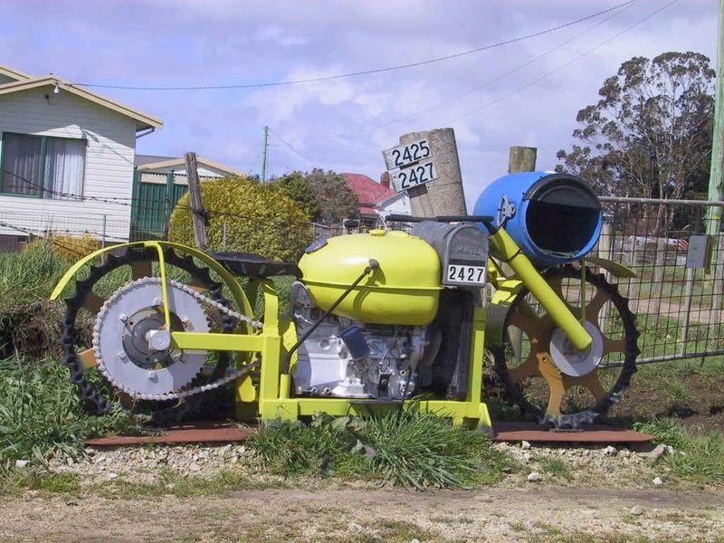 """Briefkasten Modell """"Agrar-Mopped"""""""