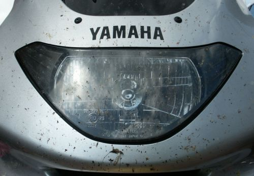 Todesfalle Motorrad - jedenfalls für Kerbtiere...