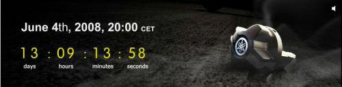 V-Max Countx Countdown auf Yamaha Motor Europe