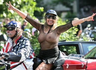 Durchschittsbesucher der Hamburg Harley Days (Foto: Hamburger Abendblatt)