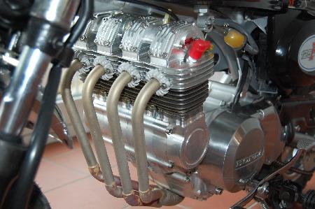 Honda Monkey mit 125ccm und vier Zylindern  (Quelle Wirthwein-Motoren)