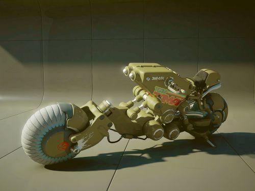 Motorrad Zukunftsvision von Zamak