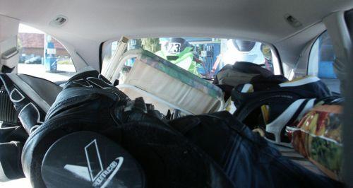 Der Blick in den geräumigen Kofferraum
