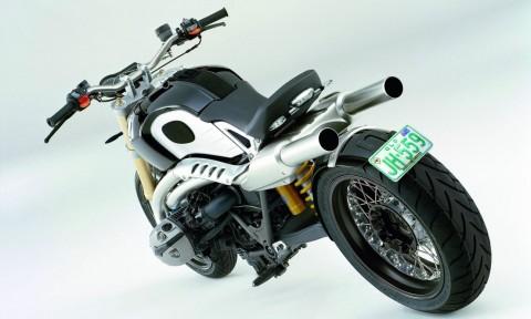 Konzept BMW Lo Rider - von hinten