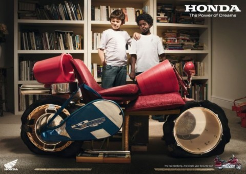Honda Gold Wing in Kinderaugen
